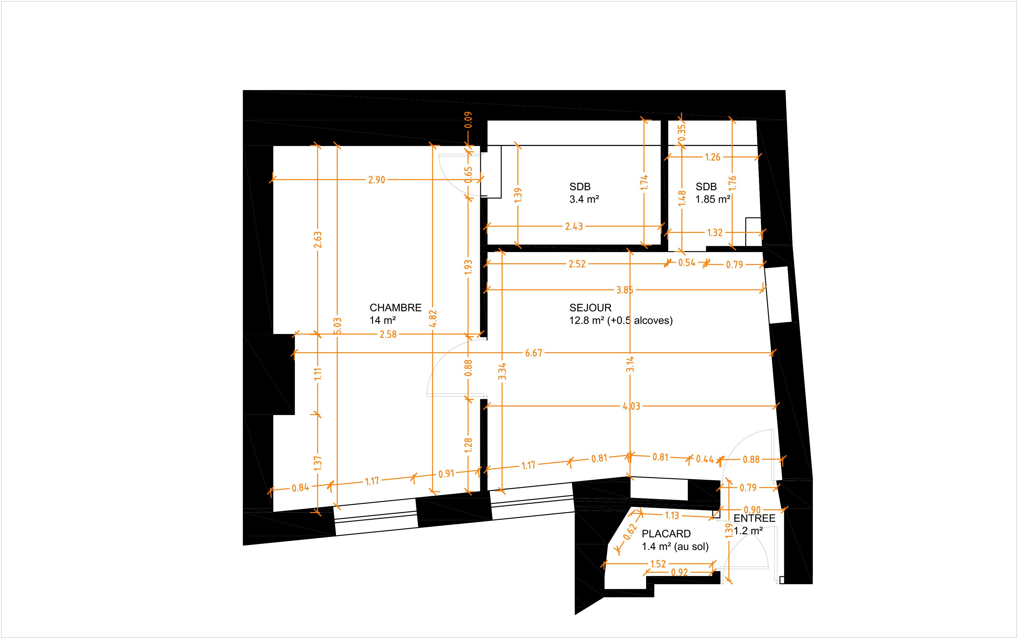 projet notre dame architecte renovation paris. Black Bedroom Furniture Sets. Home Design Ideas