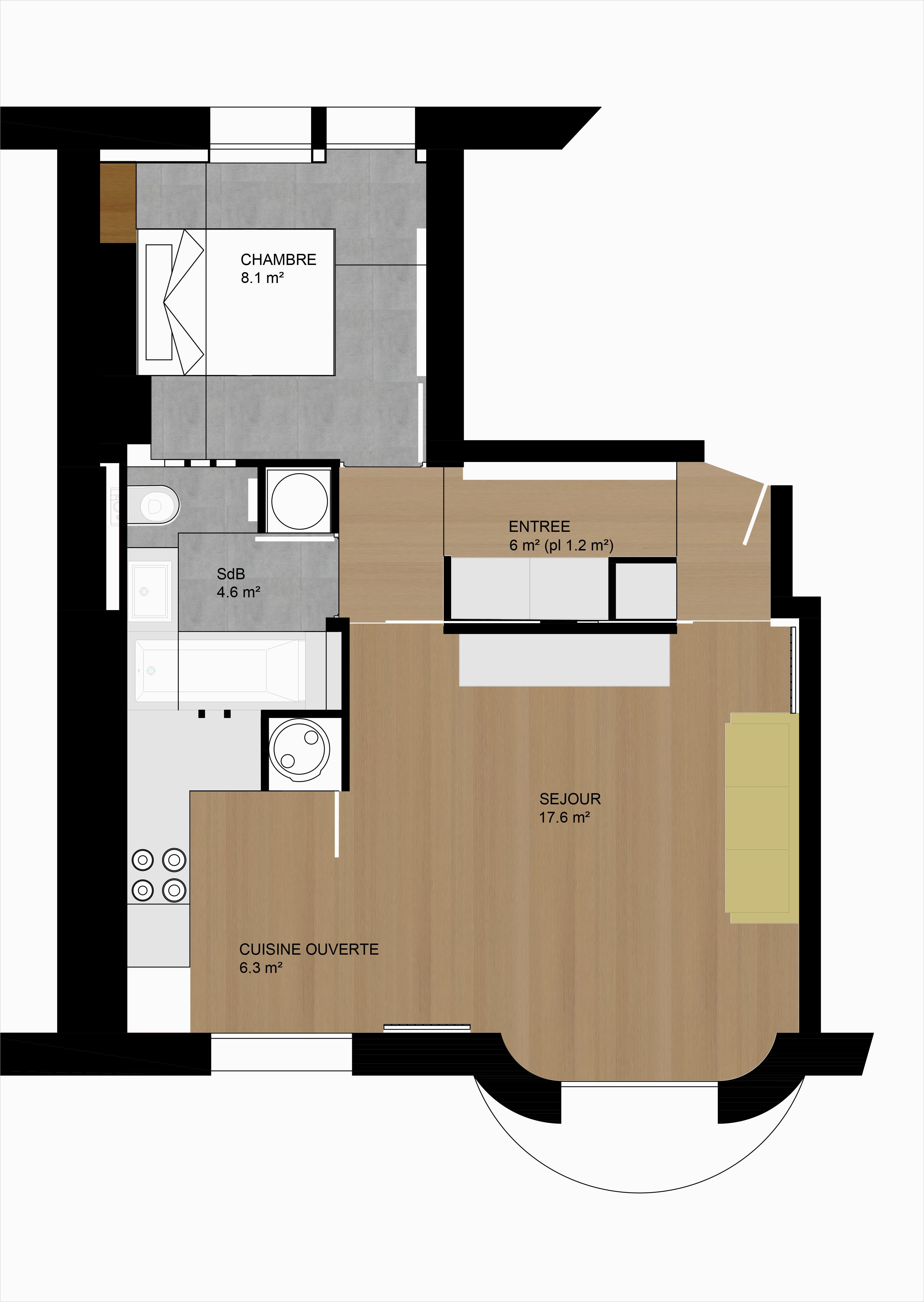 t2 paris xix architecte renovation paris. Black Bedroom Furniture Sets. Home Design Ideas